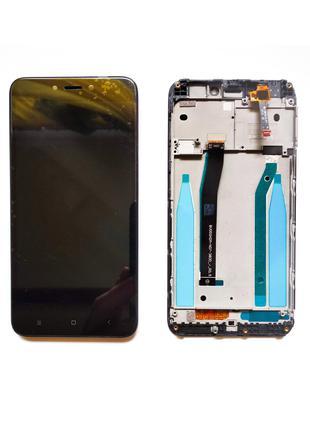 Xiaomi Redmi 4x дисплейный модуль с рамкой (экран + тачскрин + ра