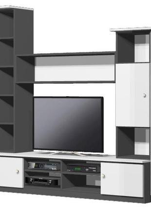 САЛЮТ-М - модульная стенка для гостиной