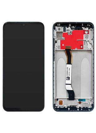 Xiaomi Redmi Note 8t дисплейный модуль с рамкой (экран + тачскрин