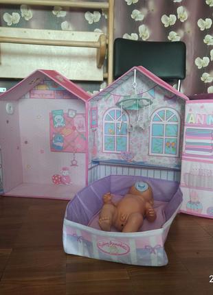 Дом спальня куклы Аннабель Розовые сны от Zapf Creation