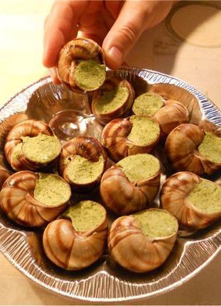 Эскарго-французский деликатес