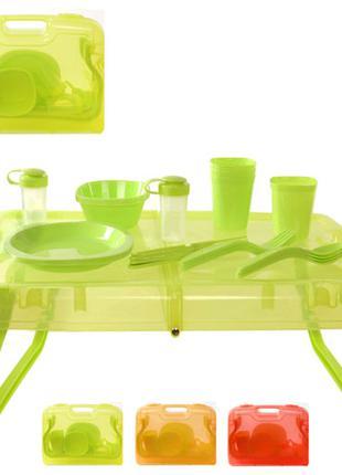Столовый набор для пикника STENSON 27 предметов