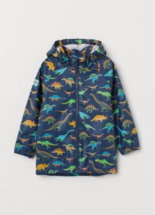 Курточка дождевик на мальчика водонепроницаемая