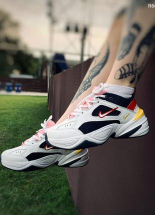Кроссовки Nike M2K Tekno Yellow Blue Red