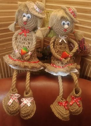 Декор для дачі/ домовички для дому/іграшки декор на дачу/дід баба