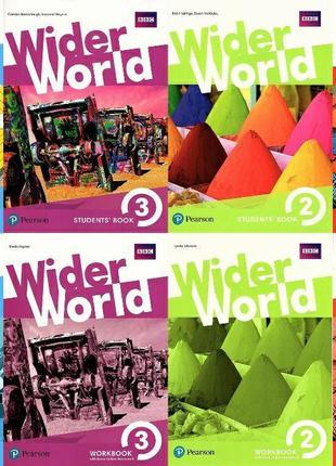 Wider World Starter, 1, 2, 3, 4