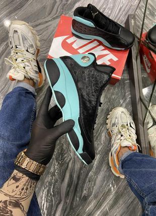 Кроссовки Nike Air Jordan 13 Black Blue