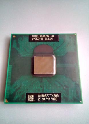 Процессор Intel Pentium Dual-Core T4300 2.1 Ghz