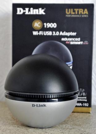 Внешний WIFI USB адаптер Dlink DWA-192 AC1900 USB 3.0