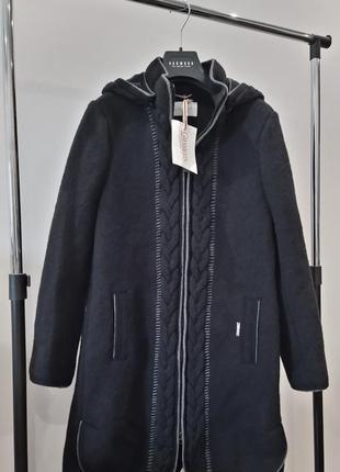 Новое шерстяное пальто giesswein австрия 100% шерсть куртка по...