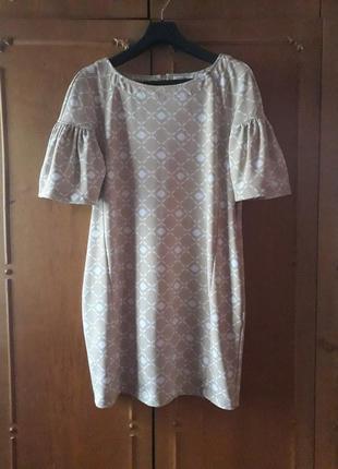 Платье бочонок от cortefiel испания