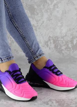 Кроссовки женские фиолетовые, жіночі кросівки
