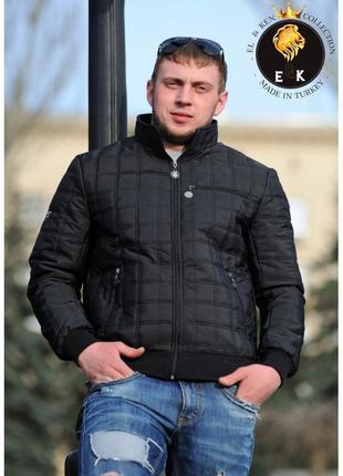 Мужская демисезонная куртка весна осень большой размер