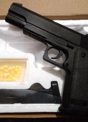 Игрушечный металлический пистолет ZM26 Colt 1911 Кольт 1911