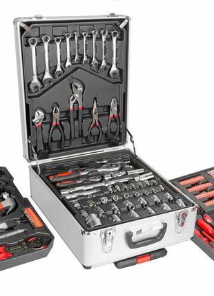 Набор инструментов ключей ,головок 187 предметов