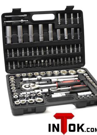 Набор инструментов ключей ,головок 108 предметов
