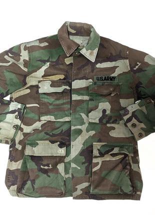 Винтажная куртка китель тактическая usa сша милитари камуфляжная
