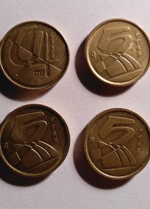 Монети Іспанії