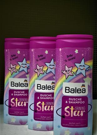 Бытовая химия Balea шампунь и гель для душа детский