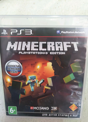 Игра Minecraft ps3 Playstation 3 диск