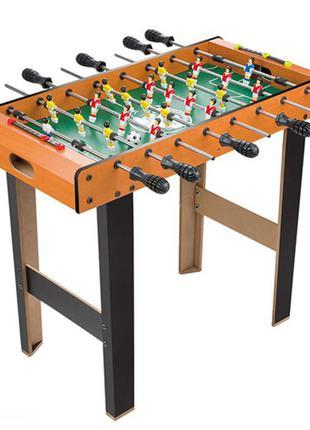 Футбол напольный деревянный 1089 на ножштангах, поле 61-33 см