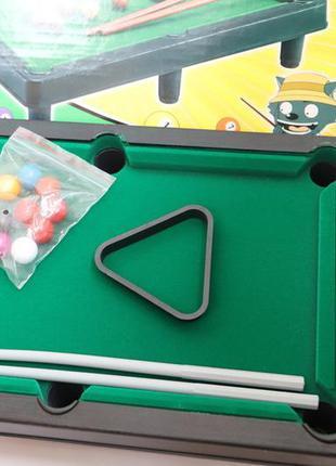 Настольная игра. детский настольный бильярд