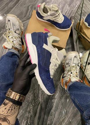 Мужские кроссовки 🔺asics gel lyte 3 blue white🔺