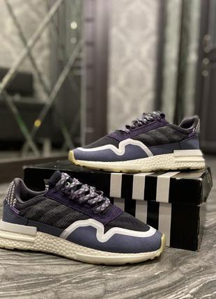 🔥 кроссовки adidas zx 500 rm violet