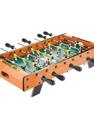 Футбол настольный деревянный 1089A штангах, поле 61-33см, шкала ,