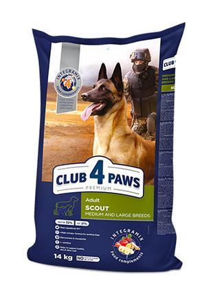 Club 4 Paws Премиум скаут 14 кг.
