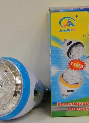 Лампа светодиодная Junai JA-219 со встроенным аккумулятором