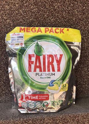 Капсулы таблетки Fairy для посудомоечной машины Фери для посуд...