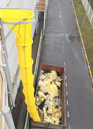 Мусоросбос или мусороспуск строительный секционный
