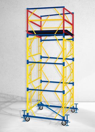 Вышка тура строительная настил 2х2 Высота 5,1 метров