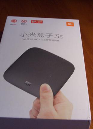 Xiaomi Mi Box 3S Смарт ТВ бокс Азиатская версия