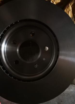 Диск тормозной передний TRW