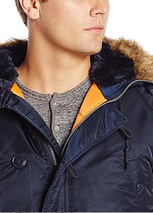 Зимняя куртка Alpha Industries N-3B Slim fit Parka Аляска США ...
