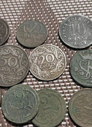 Монеты копанные Европы