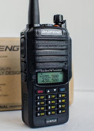 2х Рация Baofeng UV-9R Plus (10W, IP68) радиостанция (цена за ...