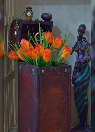 Бокс для цветов, коробка