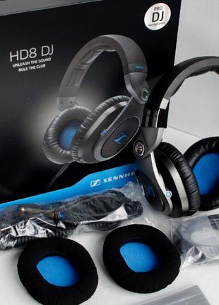 Наушники Sennheiser HD8 професійні DJ навушники (как pioneer a...