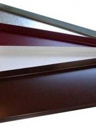 Отлив оконный в полимерном покрытии или оцинкованный