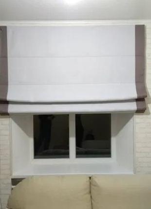Римская штора в хорошей ткани на надежном польском цепочном ме...