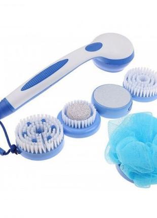 Массажная щетка для тела Spin Spa Brush 5 в 1