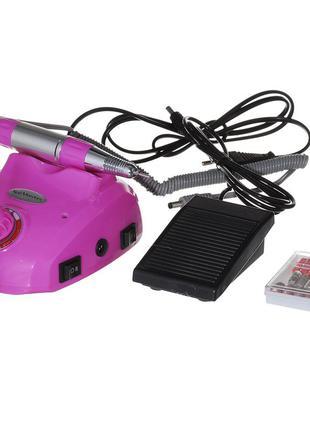 Фрезер для маникюра glazing 30000 об/мин розовый