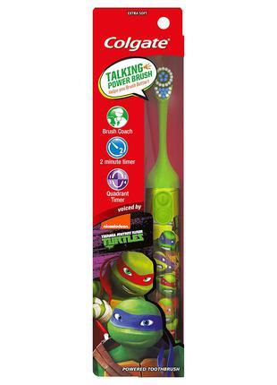 Детская электрическая зубная щетка Черепаш. ниндзя Interactive зе