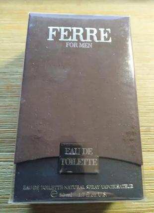 Gianfranco Ferre - For Men - Eau de toilette (50 ml.)