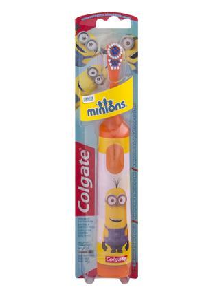Детская электрическая зубная щетка Colgate миньоны Minion Orange