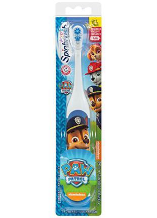 Детская электрическая зубная щетка «щенячий патруль» Чейз-Гонщик