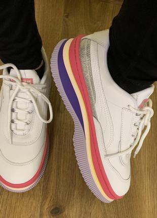 Кросівки, кроссовки, кеди білі puma.